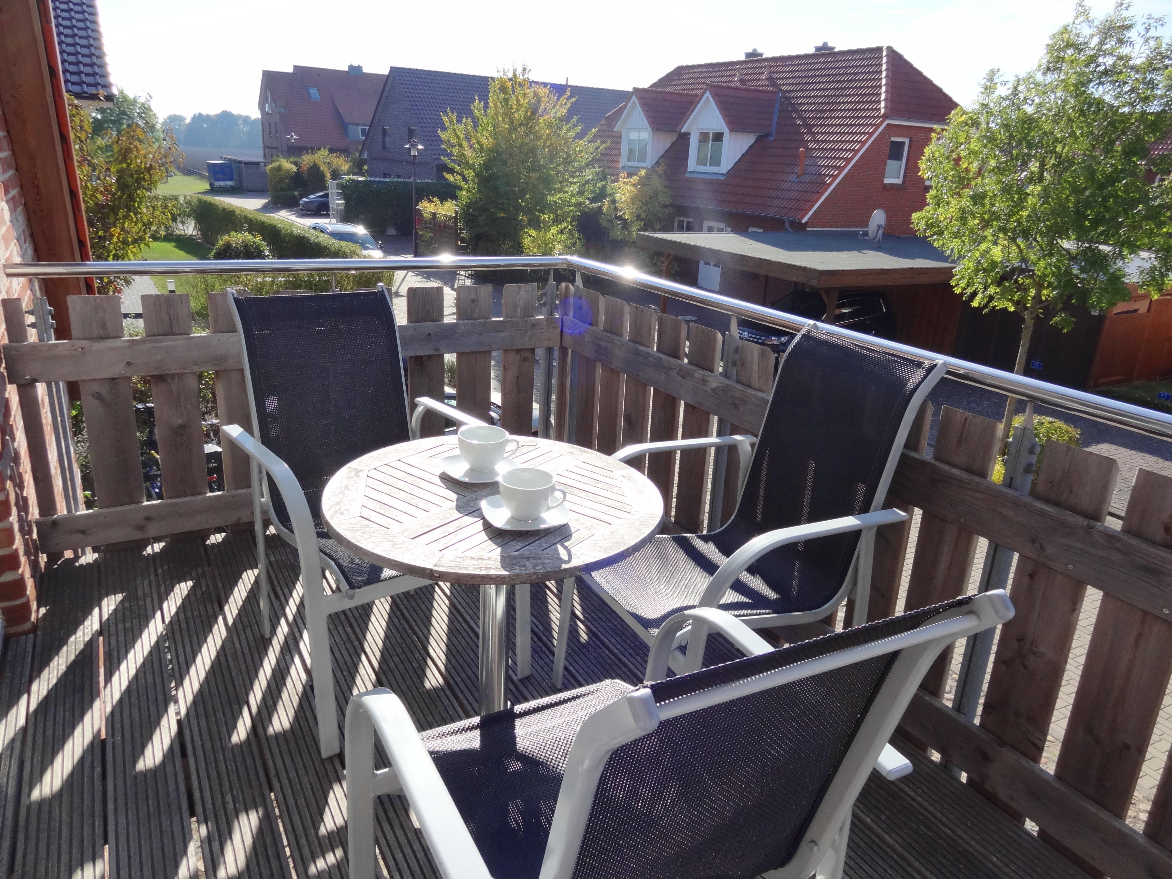 Balkon der Ferienwohnung Kiel von Ferienwohnungen Hass auf Fehmarn