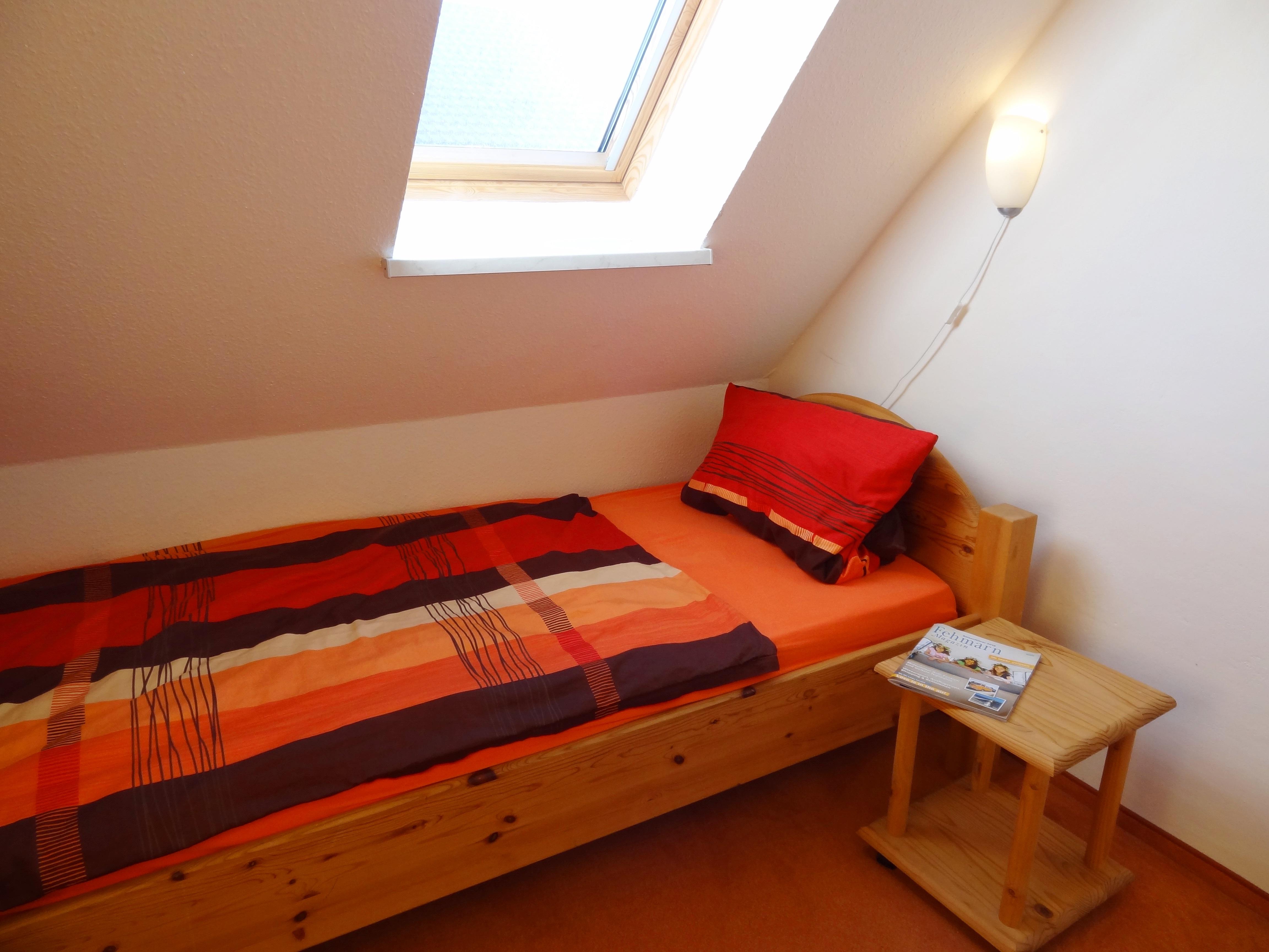 Zweites Schlafzimmer der Ferienwohnung Kiel von Ferienwohnungen Hass auf Fehmarn