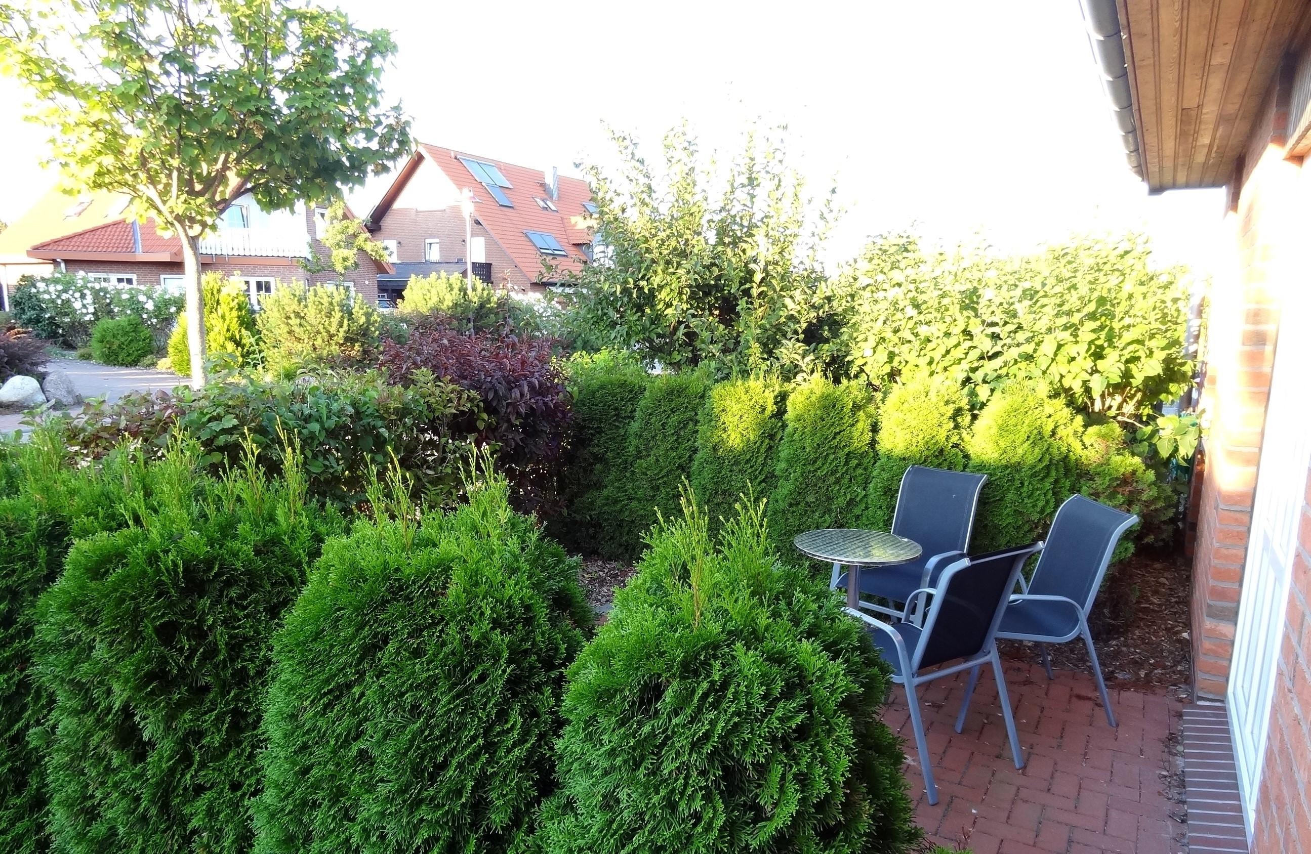 Terrasse der Ferienwohnung Brandenburg von Ferienwohnungen Hass auf Fehmarn